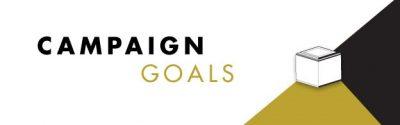 Four Levels Kickstarter Campaign Goals
