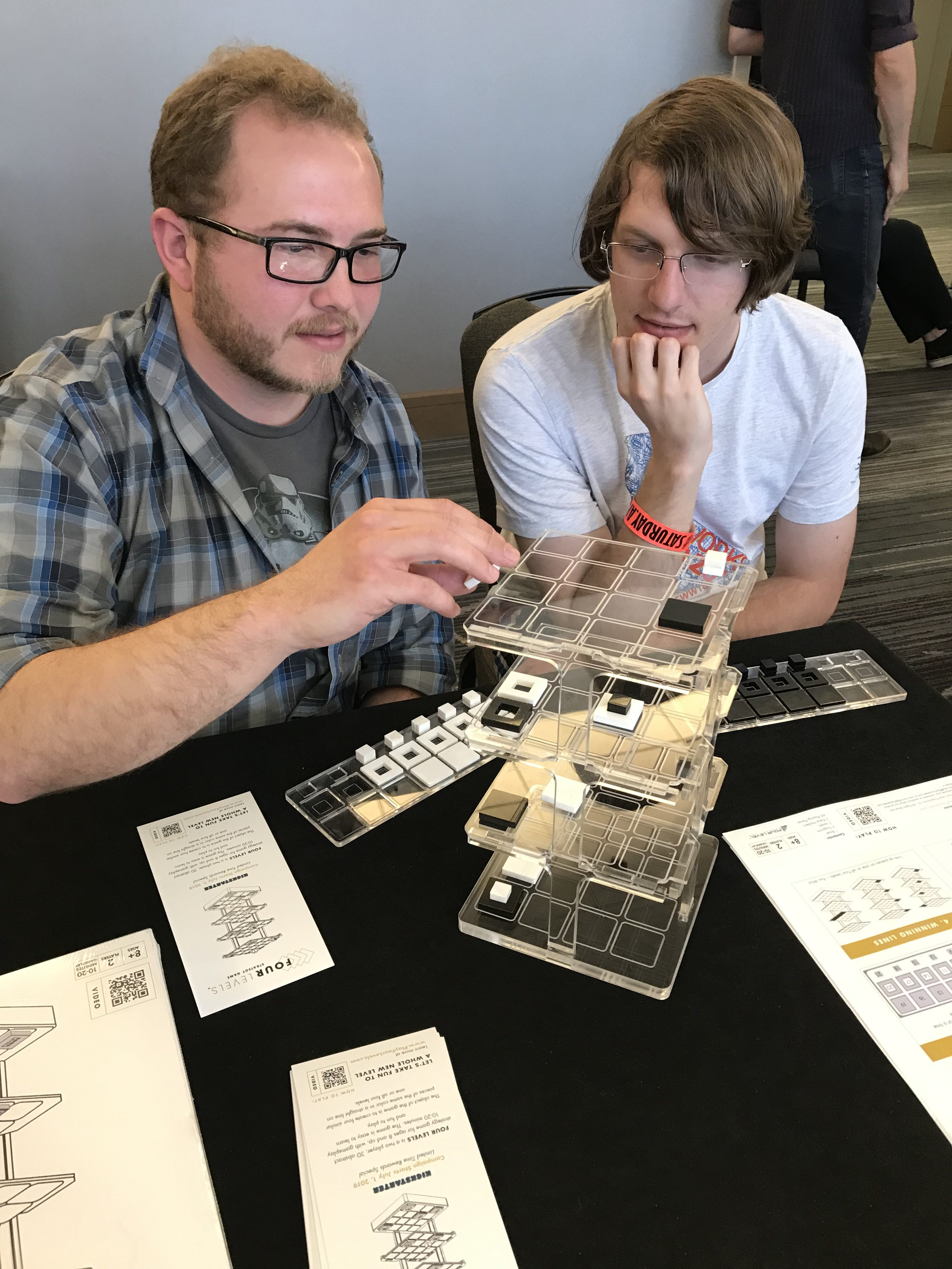 Playtesting Four Levels