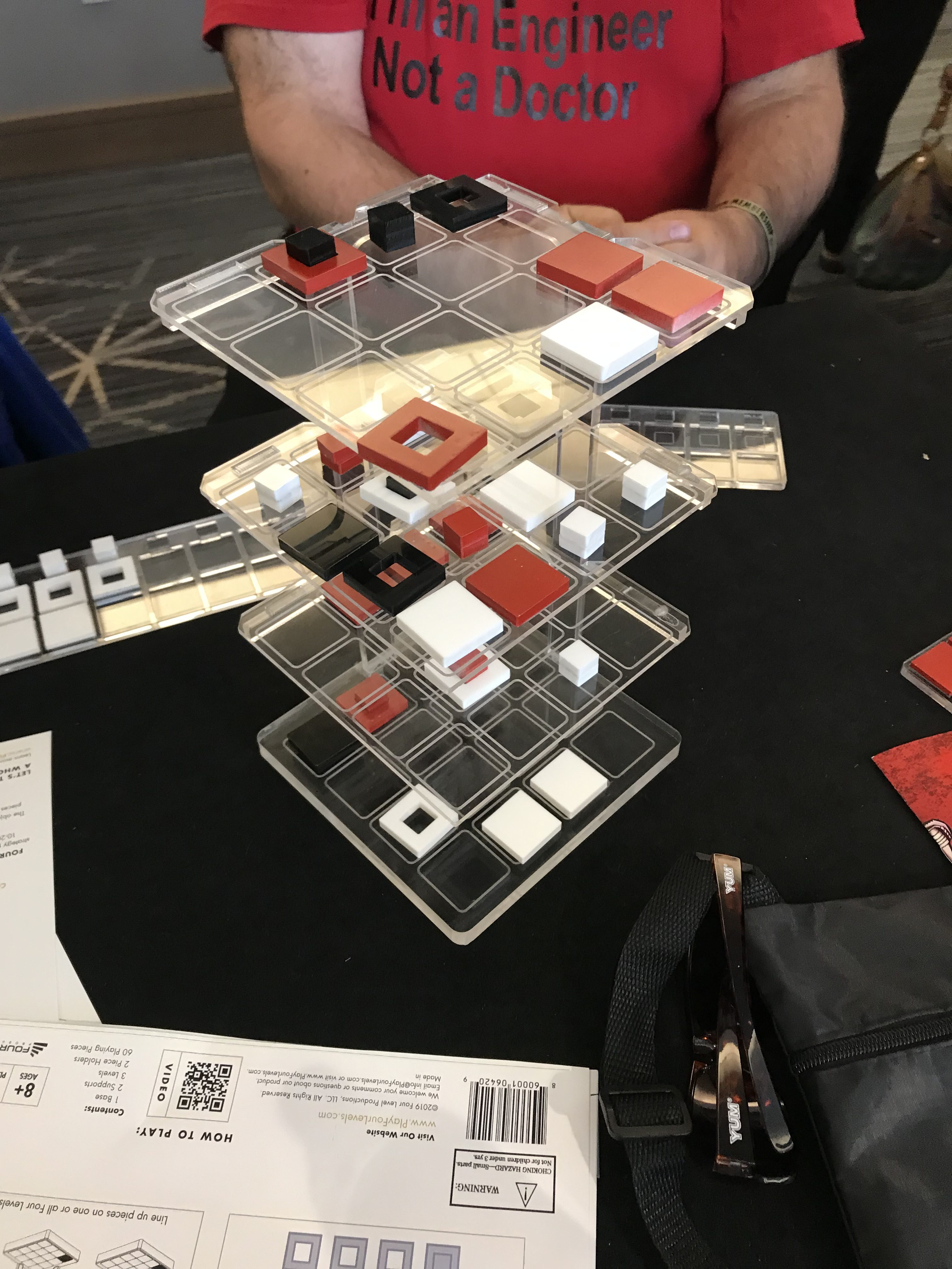 Playtesting Four Levels 3 player