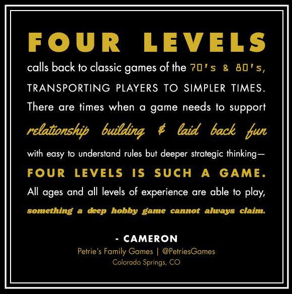 Play Four Levels Customer Review